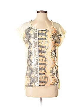 Jun & Ivy Short Sleeve Blouse Size S