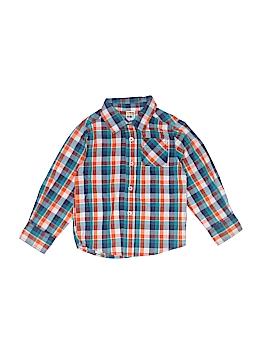 Healthtex Long Sleeve Button-Down Shirt Size 3T