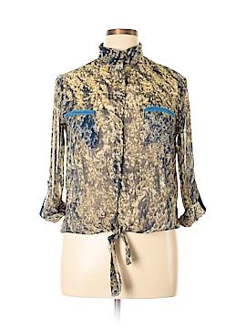Ark & Co. Long Sleeve Blouse Size L