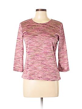 JM Collection 3/4 Sleeve Blouse Size M (Petite)