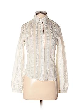 Escada Sport Long Sleeve Silk Top Size 34 (EU)