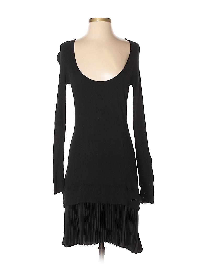 ec9e8a2714f Victoria s Secret Solid Black Casual Dress Size M - 81% off