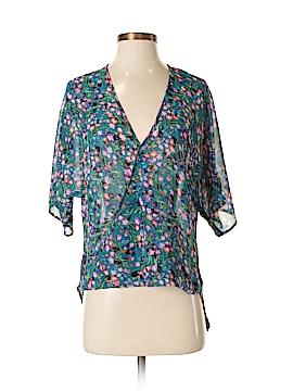 WAYF Short Sleeve Blouse Size XS