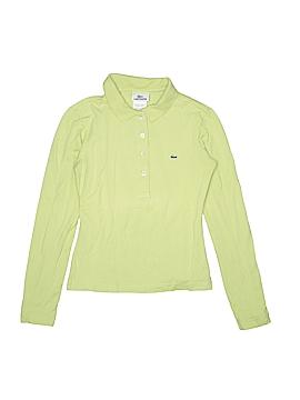 Lacoste Long Sleeve Polo Size 4