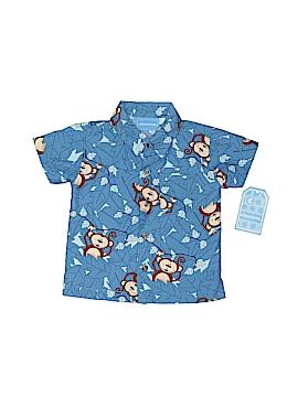 Ellemenno Short Sleeve Button-Down Shirt Size 3-6 mo