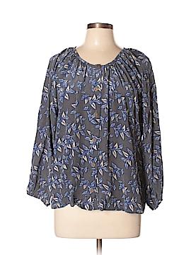 Bayla Jane 3/4 Sleeve Silk Top Size L
