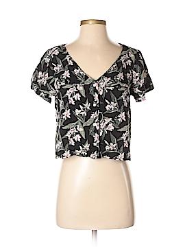 Hollister Short Sleeve Button-Down Shirt Size S