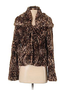 Aqua Faux Fur Jacket Size XS
