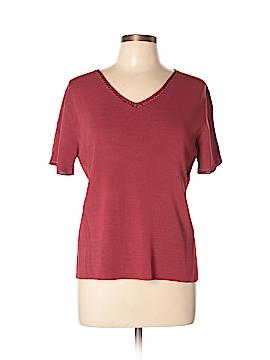 Laura Ashley Short Sleeve Top Size L