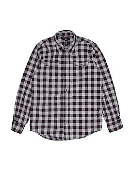 Gap Kids Outlet Long Sleeve Button-Down Shirt Size X-Large (Kids)