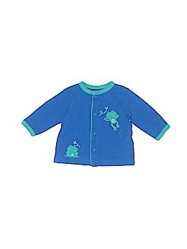 Little Me Long Sleeve Button-Down Shirt Newborn
