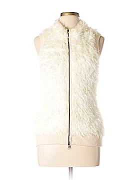 BCBGMAXAZRIA Faux Fur Vest Size L