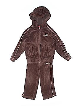 Puma Zip Up Hoodie Size 3T