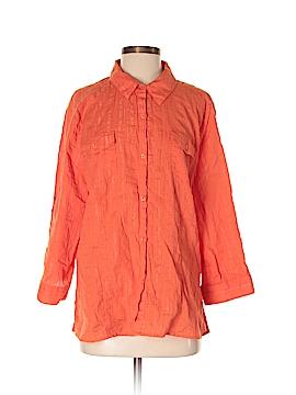 Sag Harbor Long Sleeve Button-Down Shirt Size XL
