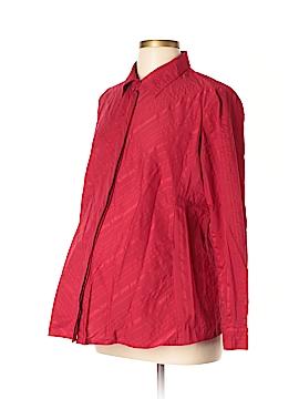 Oh! Mamma Long Sleeve Button-Down Shirt Size XL (Maternity)