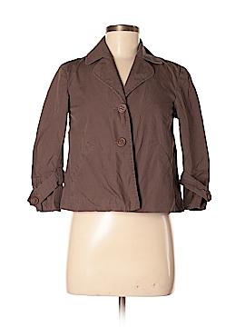 Rafaella 3/4 Sleeve Button-Down Shirt Size P (Petite)