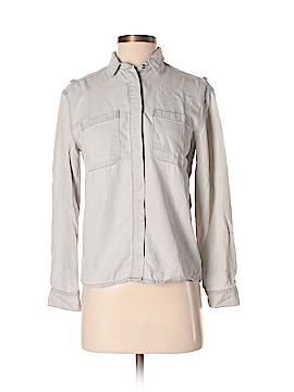 All Saints Long Sleeve Button-Down Shirt Size 0