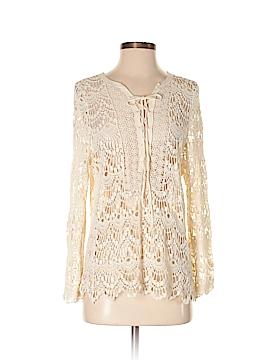 PPLA Clothing Long Sleeve Blouse Size S