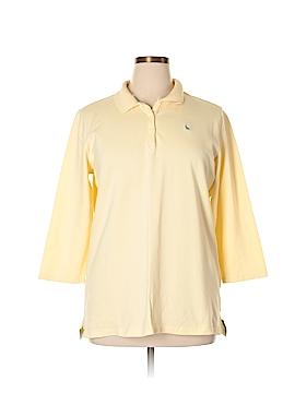 Eddie Bauer 3/4 Sleeve Polo Size XL (Tall)