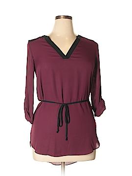 Iz Byer 3/4 Sleeve Blouse Size M