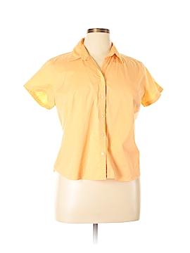 Eddie Bauer Short Sleeve Button-Down Shirt Size XL (Petite)