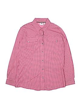 Cruel Girl Long Sleeve Button-Down Shirt Size 14 - 16