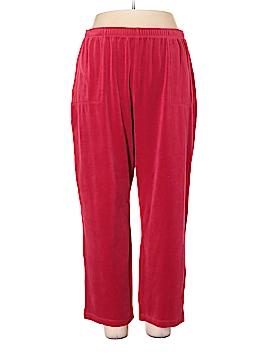 Classic Elements Velour Pants Size 16 - 18w