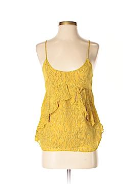 Broadway & Broome Sleeveless Silk Top Size S