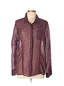 Halogen Long Sleeve Button-Down Shirt Size XL