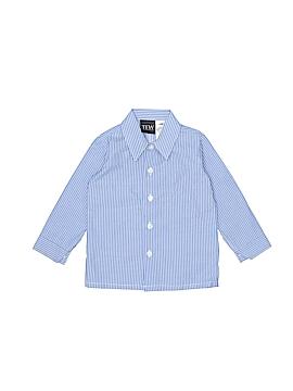 TFW Long Sleeve Button-Down Shirt Size 12-18 mo