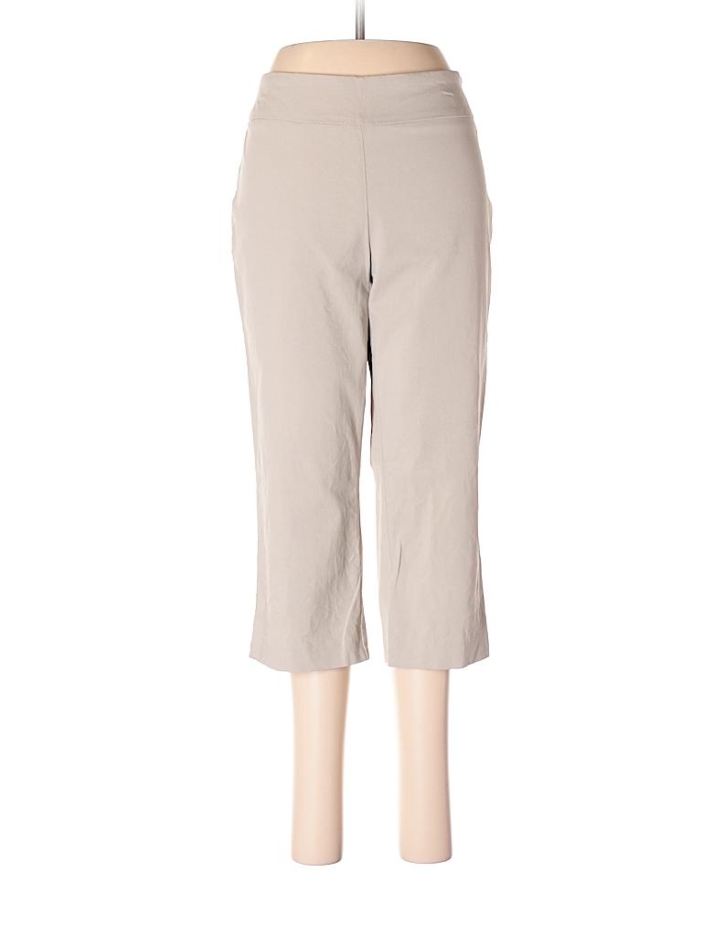 Dana Buchman Women Casual Pants Size M