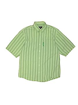 U.S. Polo Assn. Short Sleeve Button-Down Shirt Size M (Youth)