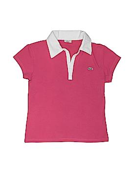 Lacoste Short Sleeve Polo Size 5