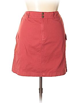 IZOD Denim Skirt Size 16 (Petite)