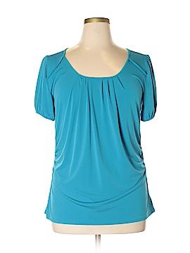 Fashion Bug Short Sleeve Top Size 0X (Plus)