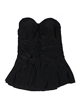 Merona One Piece Swimsuit Size 18W (Plus)