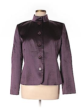 Ellen Tracy Silk Blazer Size 16