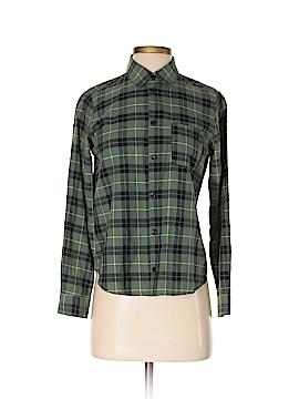 A.P.C. Long Sleeve Button-Down Shirt Size S