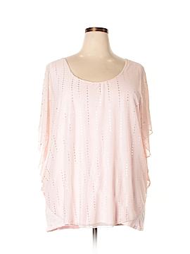 Lavish 3/4 Sleeve Blouse Size 3X (Plus)
