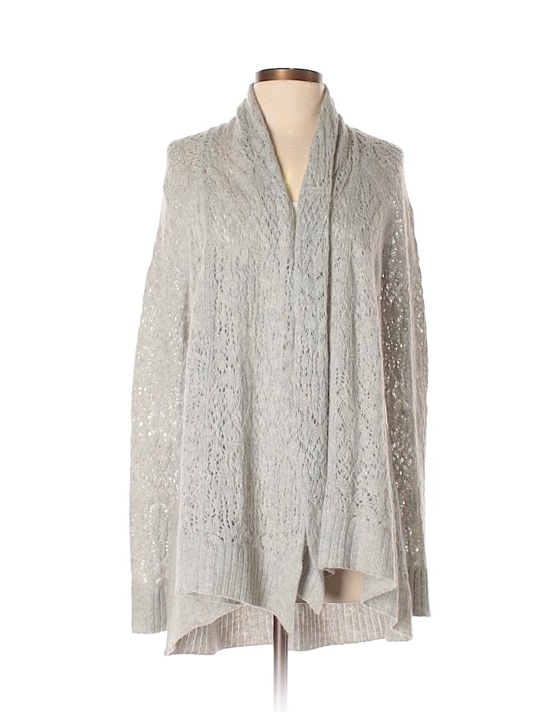 Calypso St. Barth 100% Cashmere Gray Cashmere Cardigan Size S - 81 ... 65e7f5effc540