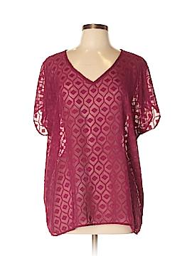 WallpapHER Short Sleeve Blouse Size XL
