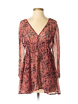 Roberta Freymann 3/4 Sleeve Silk Top Size XS