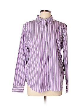 Champs Long Sleeve Button-Down Shirt Size XL