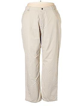 Faded Glory Khakis Size 24 (Plus)