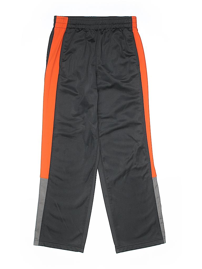 38e7fe95d Starter 100% Polyester Color Block Gray Track Pants Size Large kids ...