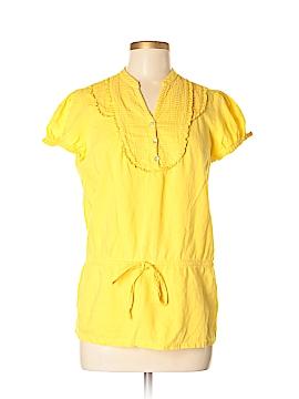 Sandro Sportswear Short Sleeve Henley Size M