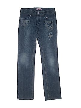 Pink Angel Jeans Size 14