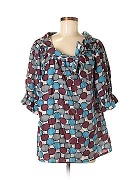 BCBGMAXAZRIA 3/4 Sleeve Blouse Size XS