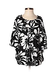 Escapada Women Short Sleeve Blouse Size XS