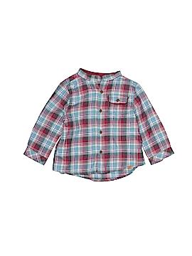 Zara Long Sleeve Button-Down Shirt Size 3-6 mo